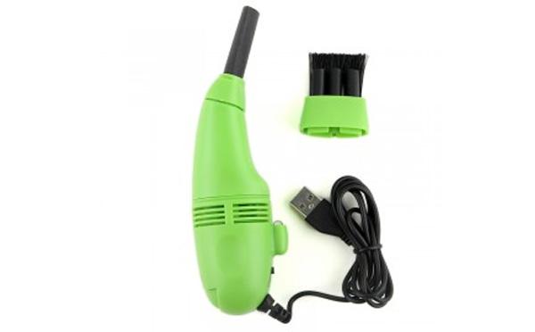 جارو برقی USB گریت مدل FD-368 سبز