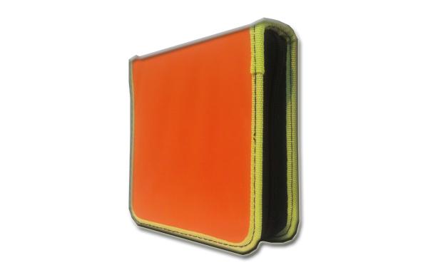 کیف سی دی EBOX برزنتی نارنجی 40 عددی