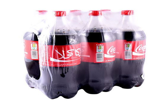 نوشابه 1.5 لیتری کوکا کولا (6 تایی)