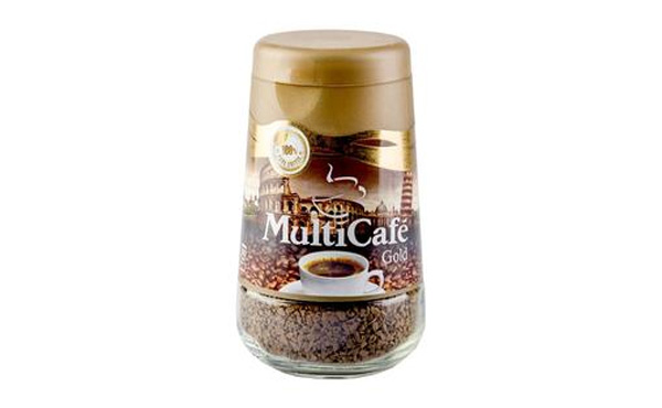 قهوه گلد 100گ شیشه ای مولتی کافه